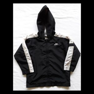 Nike Black Lightweight Jacket with Hood